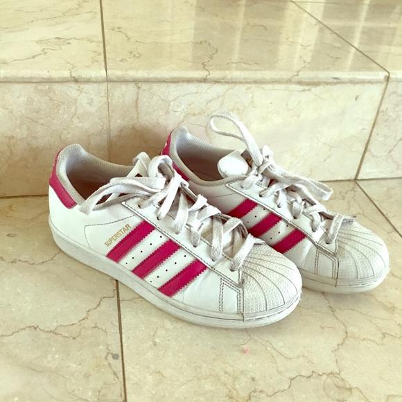 superstars pink stripes